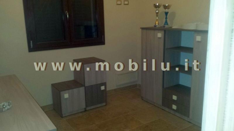 Camerette e camerette per bambibi Lecce e provincia in legno laccato bianco con lettini singoli