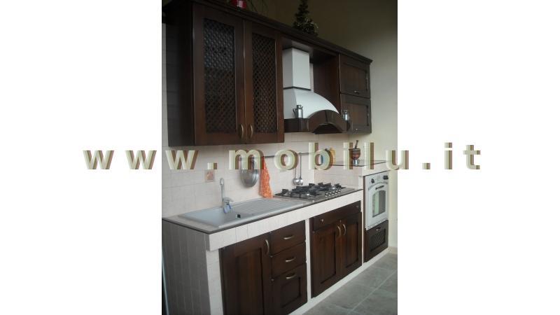 Cucine componibili Lecce e provincia legno di Rovere mordensato