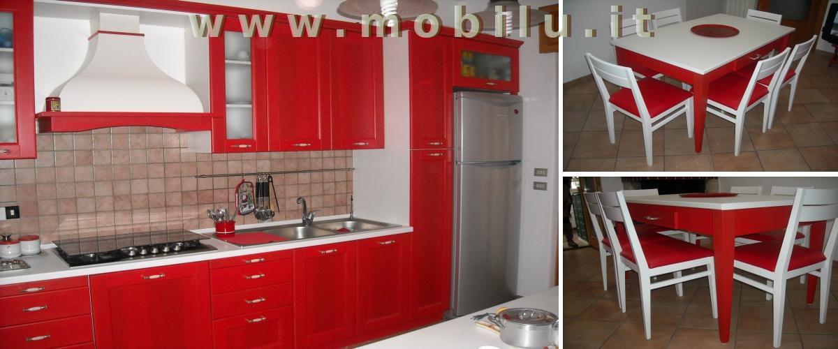 Cucine componibili Lecce e provincia produzione artigianale in legno massello lamellare novo legno e laminati
