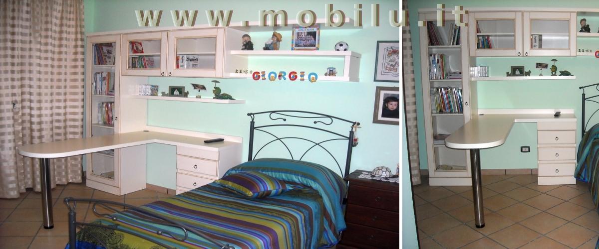 Camerette per bambini Lecce e provincia produzione artigianale in legno massello lamellare novo legno e laminati