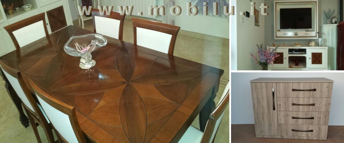 Complementi di arredo Lecce e provincia produzione artigianale in legno massello lamellare novo legno e laminati